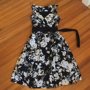 Gorgeous delicate cotton wrap dress